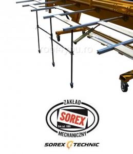 Suport pentru masa spate ZRS 3160 Sorex3