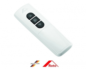 Telecomanda cu display Roto STG ZSU HS10, SII negru / WII alb [1]