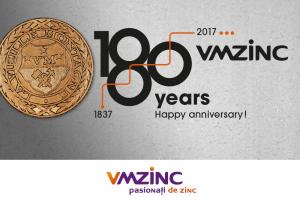 Titan zinc natural sub forma de rulou cu latimea de 650mm, lungimea de 31m si grosimea de 0.7mm, Vmzinc [1]