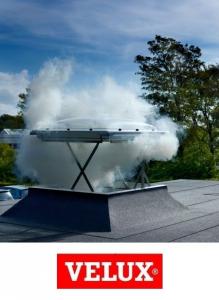 Velux CSP 1073, 100/100, fereastra  evacuare fum electrica [3]