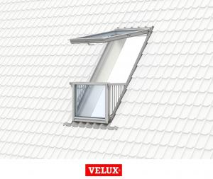 Velux GDL 3066, 114/252, toc din poliuretan, deschidere mediana, geam triplu [6]