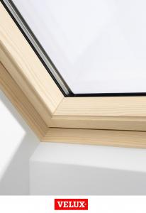 Velux Premium GGL 306621, 55/78, toc din lemn, deschidere mediana, geam triplu [1]