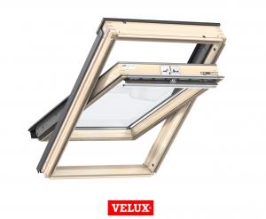 Velux Standard GZL 1051, 55/78, toc din lemn, deschidere mediana, geam dublu + rama etansare EDW 2000 [0]