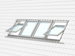 Fereastra mansarda Velux Standard GZL 1051, 55/78, toc din lemn, deschidere mediana, geam dublu8