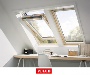 Velux Premium GGL 3066, 55/78, toc din lemn, deschidere mediana, geam triplu [4]