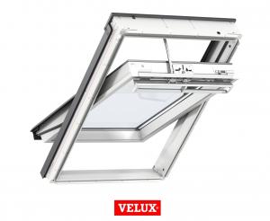 Fereastra mansarda Velux Premium GGU 006621, 55/78, toc din poliuretan, actionare electrica, deschidere mediana, geam triplu2