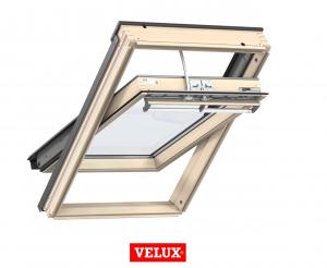 Velux Premium GGL 306630, 55/78, toc din lemn, deschidere mediana, geam triplu [2]
