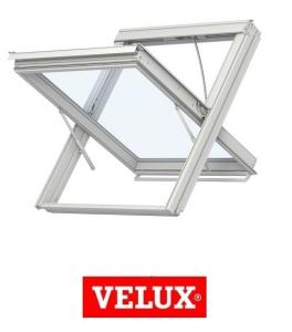 Fereastra mansarda Velux Premium GGL 306640, 78/98, toc din lemn, deschidere mediana, geam triplu0