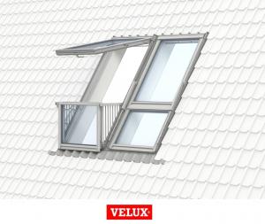 Velux GDL 3066, 78/252, toc din lemn, deschidere mediana, geam triplu [7]