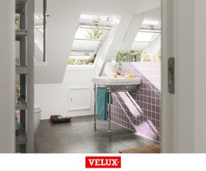 Fereastra mansarda Velux Premium GGU 006630, 55/78, toc din poliuretan, actionare solara, deschidere mediana, geam triplu14