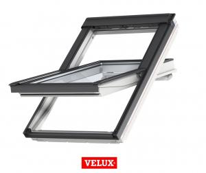 Fereastra mansarda Velux Premium GGU 006630, 55/78, toc din poliuretan, actionare solara, deschidere mediana, geam triplu9
