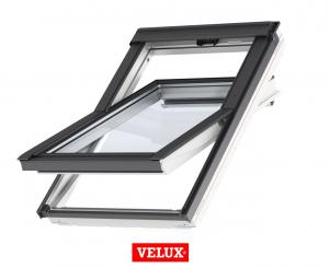 Fereastra mansarda Velux Standard GLU 0061, 55/78, toc din poliuretan, deschidere mediana, geam triplu0