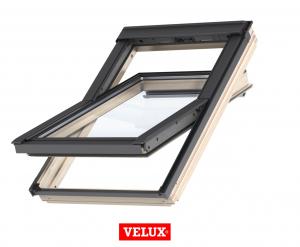 Velux Standard Plus GLL 1061, 55/78, toc din lemn, deschidere mediana, geam triplu [0]