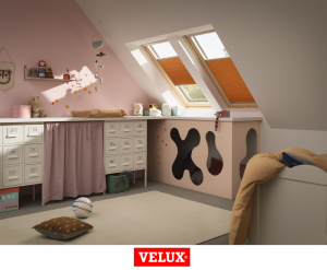 Velux Standard Plus GLL 1061, 55/78, toc din lemn, deschidere mediana, geam triplu [3]