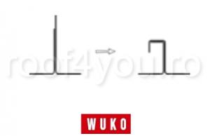 Masina mica de profilat Wuko 1008 functionare la priza3