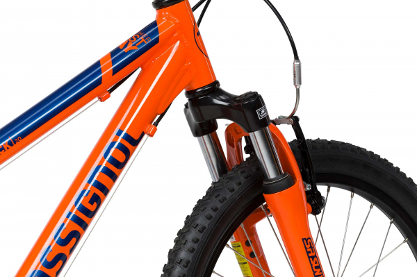 Bicicleta copii ALL TRACK 20 Orange blue 4