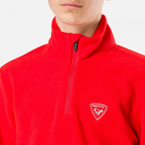 Bluza copii BOY 1/2 ZIP FLEECE Crimson 1