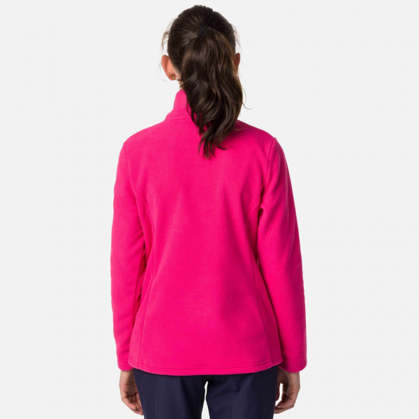 Bluza copii GIRL 1/2 ZIP FLEECE Pink fushia 1