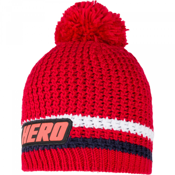 Caciula HERO POMPON Sports red 0