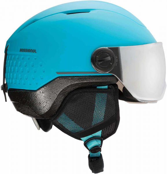 Casca schi WHOOPEE VISOR IMPACTS Blue / Black 4