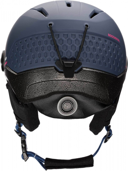 Casca schi WHOOPEE VISOR IMPACTS Blue / Pink 2