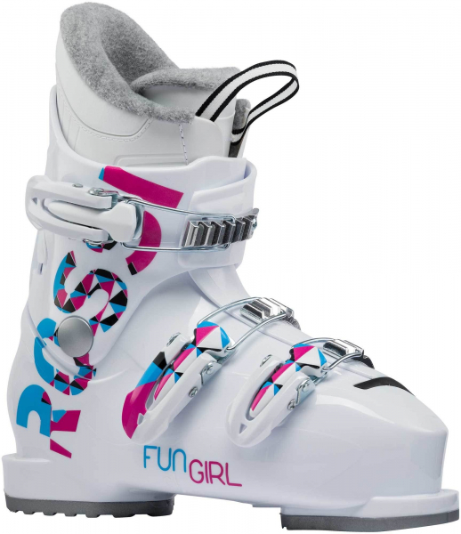Clapari copii FUN GIRL J3 White 0