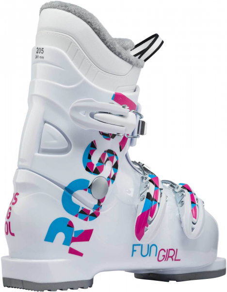 Clapari copii FUN GIRL J3 White 3