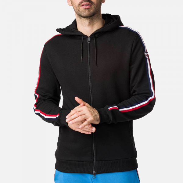 Hanorac barbati FLAG SWEAT Black 0