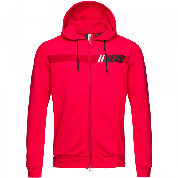 Hanorac barbati HERO HOODY SWEAT Red 0