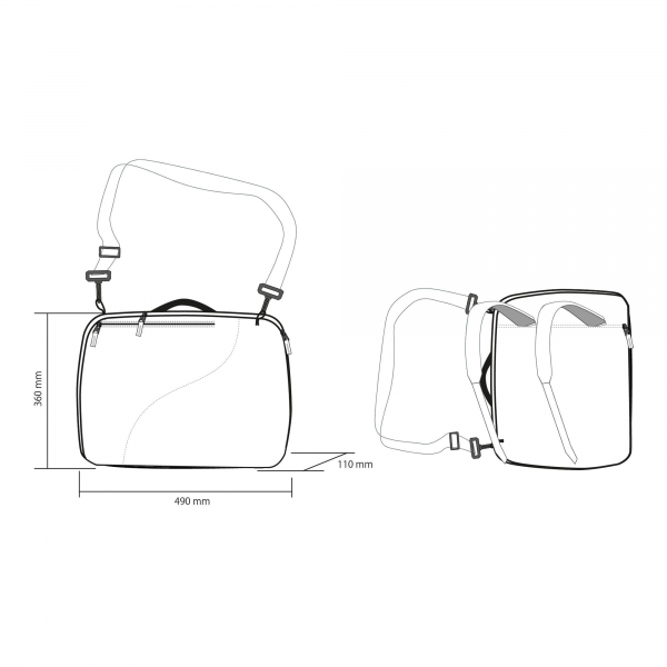 Husa clapari HERO DUAL BOOT BAG 8