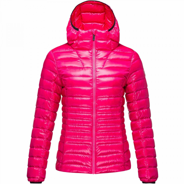 Jacheta dama W LIGHT DOWN HOOD Pink fushia 6