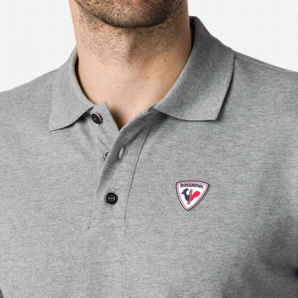 Tricou barbati ROOSTER CLASSIC POLO Heather grey 4