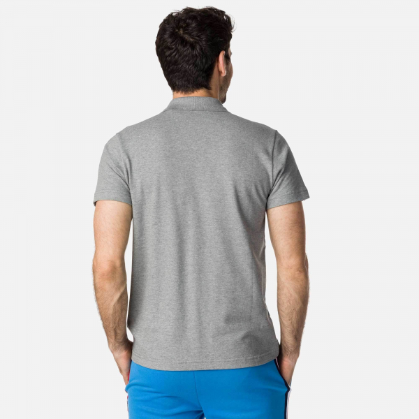 Tricou barbati ROOSTER CLASSIC POLO Heather grey 2