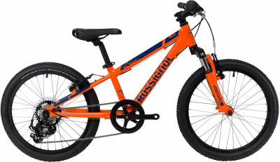 Bicicleta copii ALL TRACK 20 Orange blue0