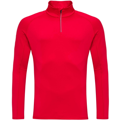 Bluza barbati CLASSIQUE 1/2 ZIP Sports red4