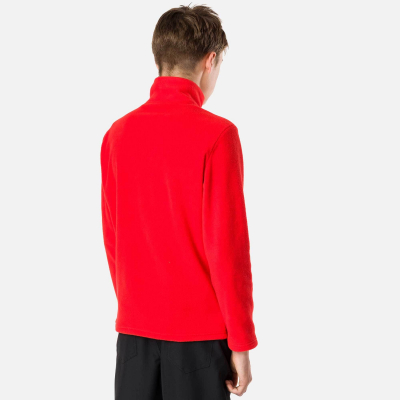 Bluza copii BOY 1/2 ZIP FLEECE Crimson2