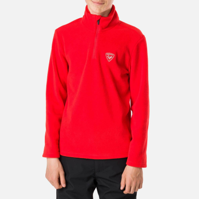 Bluza copii BOY 1/2 ZIP FLEECE Crimson3