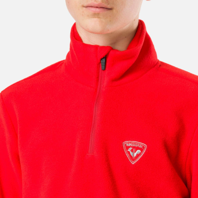 Bluza copii BOY 1/2 ZIP FLEECE Crimson1