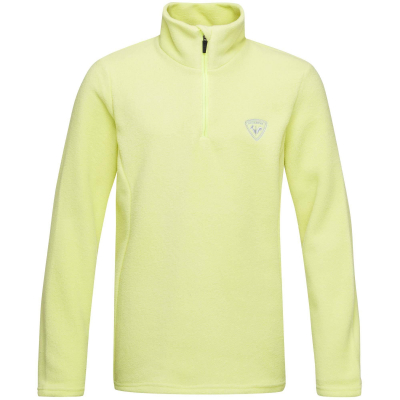 Bluza copii GIRL 1/2 ZIP FLEECE Sunny lime0