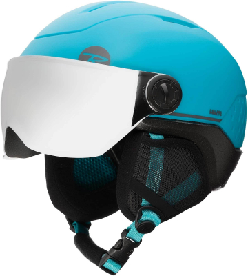 Casca schi WHOOPEE VISOR IMPACTS Blue / Black1