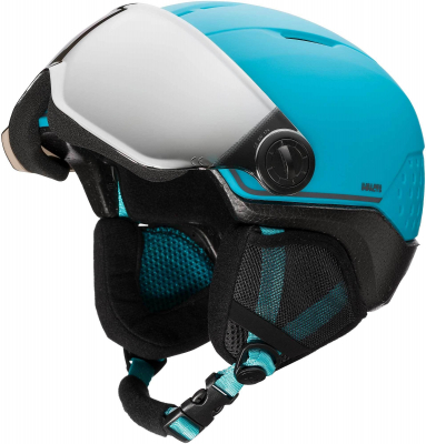 Casca schi WHOOPEE VISOR IMPACTS Blue / Black0