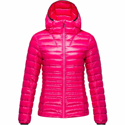 Jacheta dama W LIGHT DOWN HOOD Pink fushia6