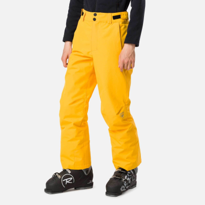 Pantaloni schi copii BOY SKI Deep citrus0