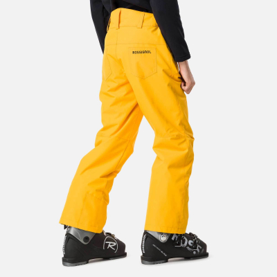 Pantaloni schi copii BOY SKI Deep citrus1
