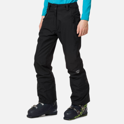 Pantaloni schi copii GIRL SKI Black0