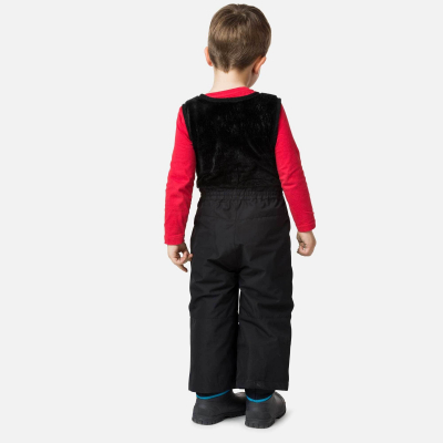 Pantaloni schi copii KID SKI Black1