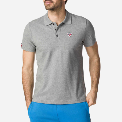 Tricou barbati ROOSTER CLASSIC POLO Heather grey0