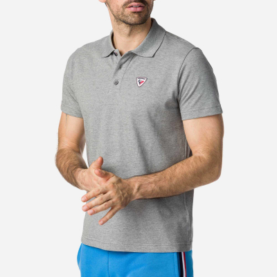 Tricou barbati ROOSTER CLASSIC POLO Heather grey1