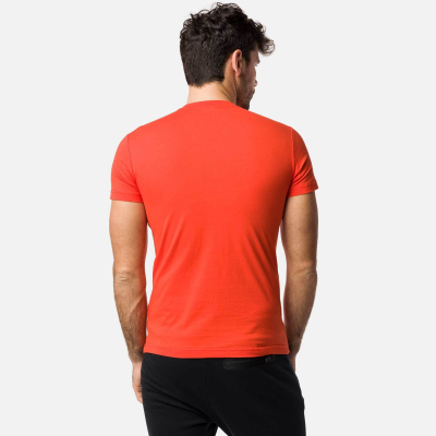 Tricou barbati ROSSIGNOL Lava orange1
