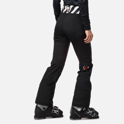 Pantaloni schi dama W NUITI GLOBAL Black1